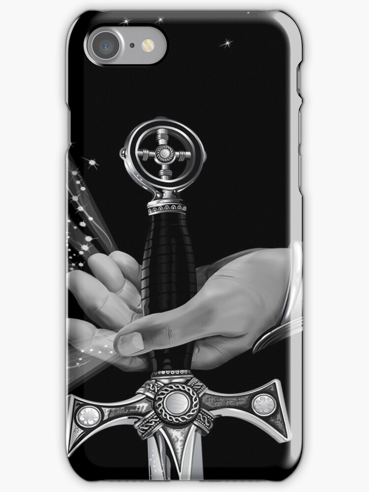 Warrior's Destiny iPod / iPhone 4 Case / Samsung Galaxy Cases  by CroDesign