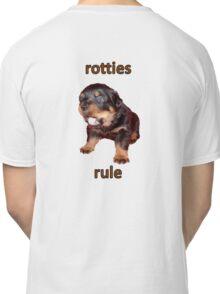 Rotties Rule Classic T-Shirt