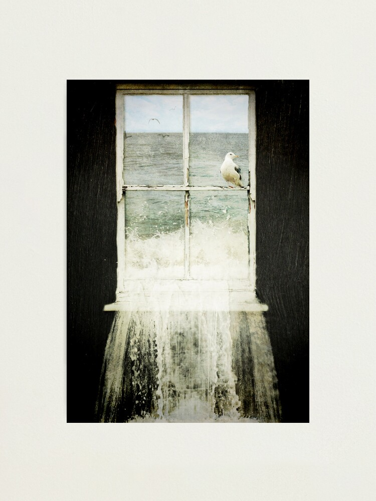 Alternate view of House by the Sea Photographic Print