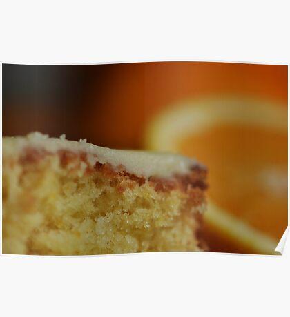 Orange Drizzle Cake Poster