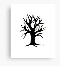 Dancing Tree Canvas Print