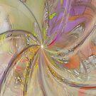 Multi Colored Pinwheel case by Deborah  Benoit