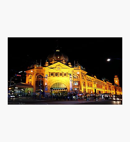 """Flinders Street Station"" Photographic Print"