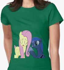 Fluttershy And Luna Womens Fitted T-Shirt