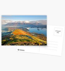 Catbells bathed in morning light Postcards