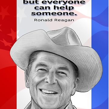 Ronald Reagan by Lines