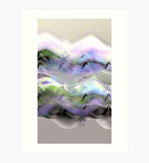 Ocean-Race_31 Art Print