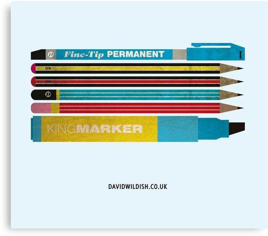 Pen & Ink by David Wildish