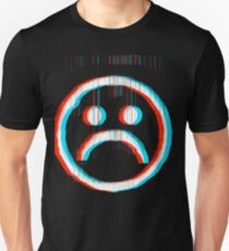 Sad Glitch Unisex T-Shirt