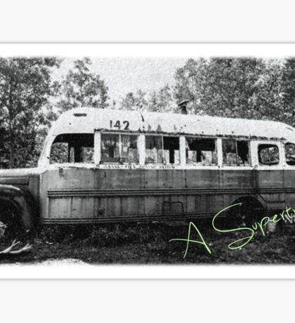 Magic bus Sticker