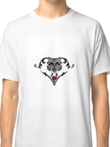 Wolf Design (with white background) Classic T-Shirt