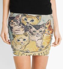 Cats Against Cat Calls Mini Skirt