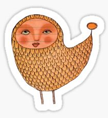 Hello Yellow Bird Sticker