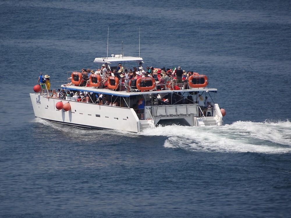 Catamaran-Excursion  by PtoVallartaMex