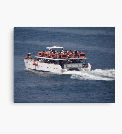 Catamaran-Excursion  Canvas Print