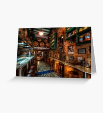 Bodega Monumental Tapes Bar Greeting Card
