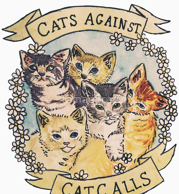 « Chats contre les appels de chat » par tamaghosti