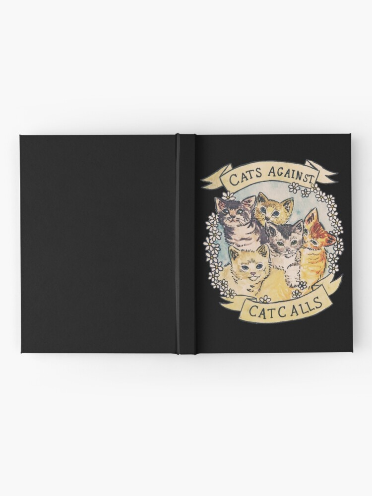 Alternate view of Cats Against Cat Calls Hardcover Journal