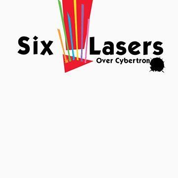 Six Lasers Over Cybertron by autobotchari