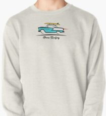 1955 Chevy Hardtop Coupe Gone Surfing Pullover