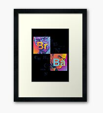 Study of Change Framed Print