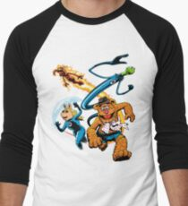 The Muptastic Four Men's Baseball ¾ T-Shirt