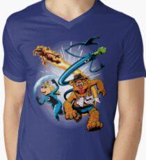 The Muptastic Four Men's V-Neck T-Shirt