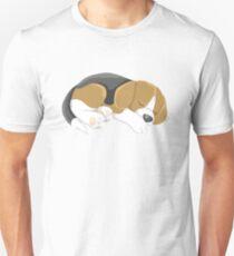 Sleeping Puppy Unisex T-Shirt