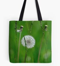 Lonely dandelium Tote Bag