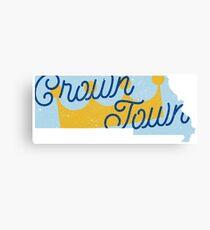 Crown Town Canvas Print