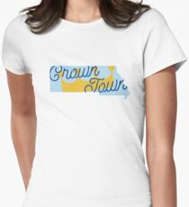Crown Town Women's Fitted T-Shirt