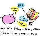 Petey And Tercy...  by Ollie Brock