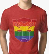 Autobot Pride [Homosexuality] Tri-blend T-Shirt