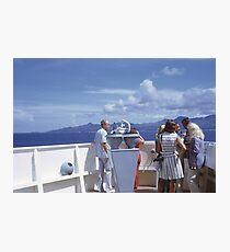 World Cruise 1972 Photographic Print