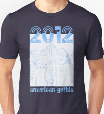 American Gothic 2012 - Vintage T-Shirt
