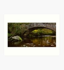 Hubberholme Bridge, Yorkshire Dales Art Print