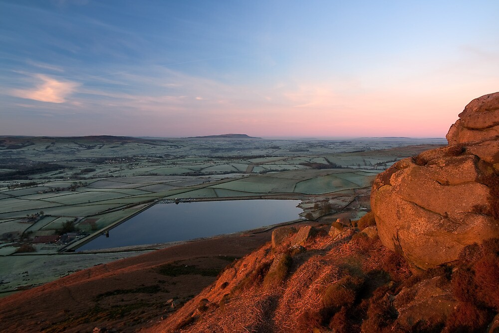 Embsay Sunrise, Yorkshire Dales by Jim Round