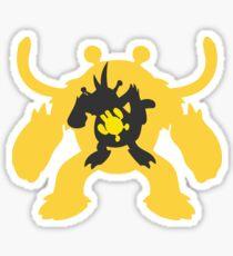 PKMN Silhouette - Electabuzz Family Sticker