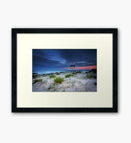 The Entrance Beach Framed Print