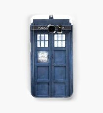 Tardis Blue - The Police Box Samsung Galaxy Case/Skin