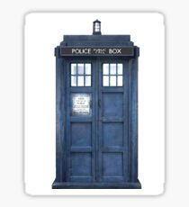Tardis Blue - The Police Box Sticker