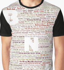 Barenaked Ladies - All the songs! Graphic T-Shirt