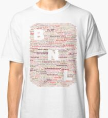 Barenaked Ladies - All the songs! Classic T-Shirt