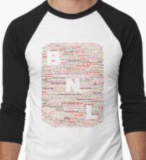 Barenaked Ladies - All the songs! Men's Baseball ¾ T-Shirt
