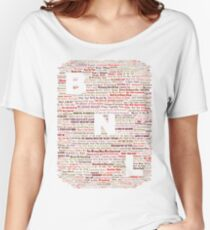 Barenaked Ladies - All the songs! Women's Relaxed Fit T-Shirt