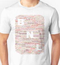 Barenaked Ladies - All the songs! Unisex T-Shirt