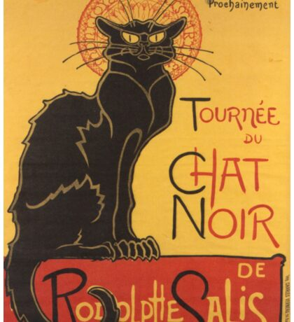 Soon, the Black Cat Tour by Rodolphe Salis Sticker