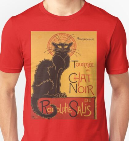 Soon, the Black Cat Tour by Rodolphe Salis T-Shirt
