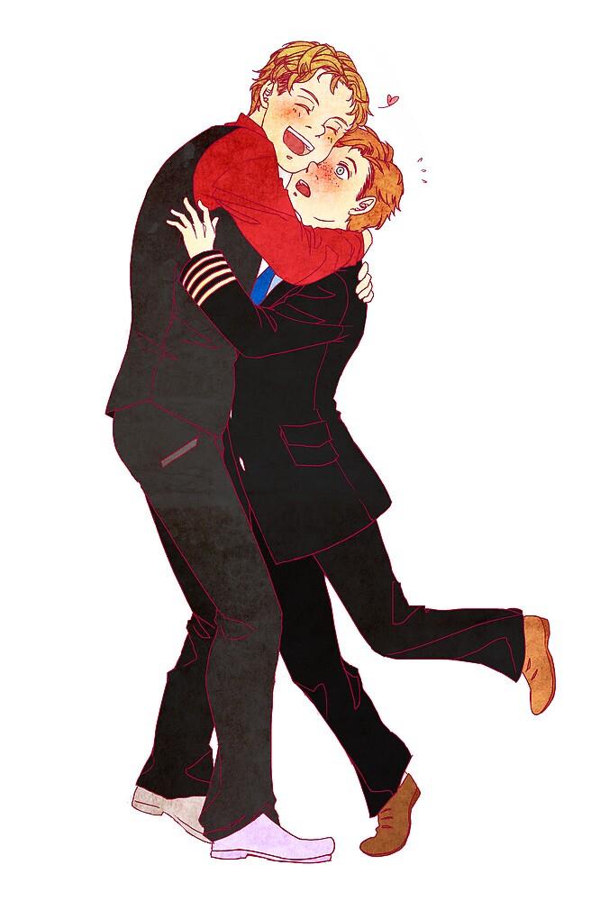 Hug a Skipper Day by iyori