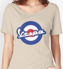 Vespa script mod symbol Women's Relaxed Fit T-Shirt